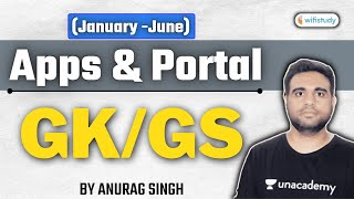 11:30 PM - SSC/Railway/UPSSSC Exams | GK/GS by Anurag Singh | Apps and Portal (January -June) screenshot 2