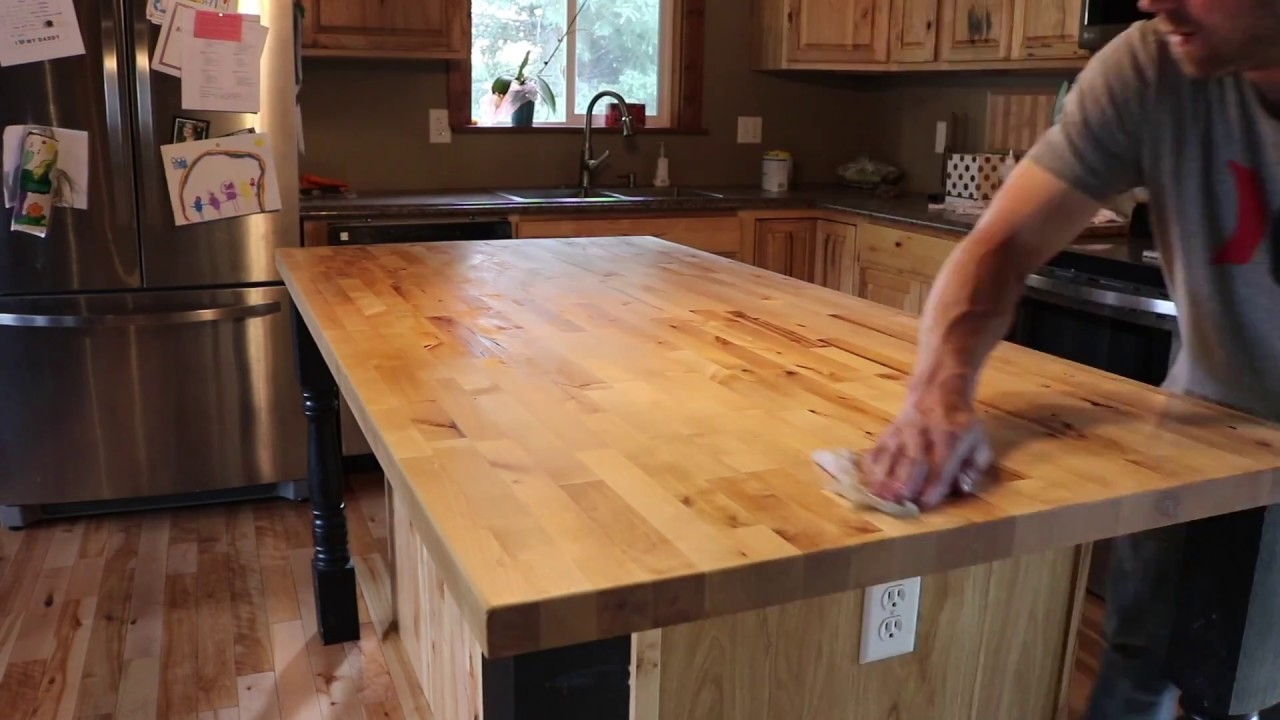 Butcher Block Restoration You