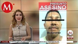 Detienen a presunto asesino de Valeria