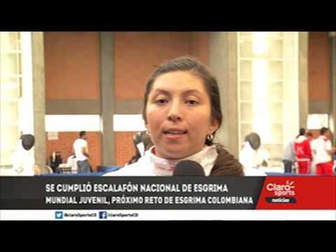 Natalia Lozano lidera el escalafon nacional de esgrima