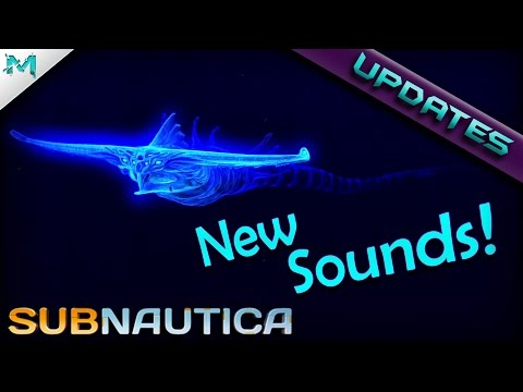 Subnautica UPDATES! Ghost Leviathan New Sounds Version 2!