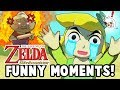 LINK'S GRANDMA IS ACTUALLY EVIL?! (Wind Waker HD Funny Moments)