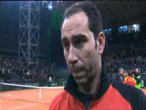 Davis Cup Interview: Albert Costa