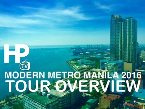 Modern Metro Manila 2016 Tour Overview by HourPhilippines.co