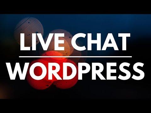 Comment Créer Un Live Chat Sur WordPress