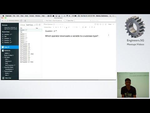 Swift / iOS Quiz - iOS Dev Scout
