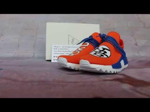 innovative design 2417d 1df16 Close look at Pharrell x adidas NMD GoKu