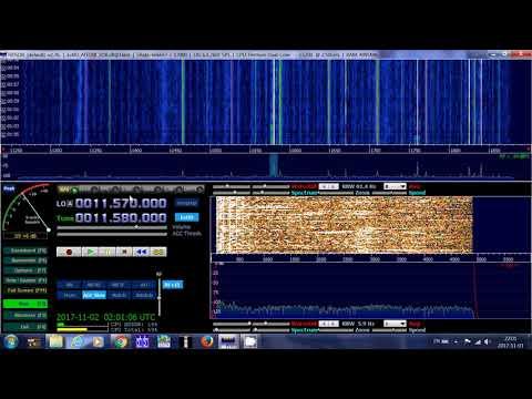 B17 Winter Schedules weekdays Radio Ukraine via WRMI 11580 Khz Shortwave at 0200 UT