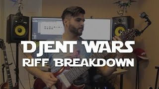 a breakdown of my riffs from djent wars with jared dines