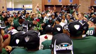 Repeat youtube video The Journey: Big Ten Football 2013 - MSU Big Ten Championship celebration Extended