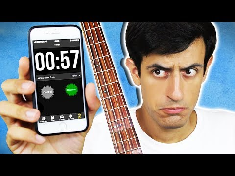 EXTREMELY FAST BASS - 1000 NOTES In 60 SECONDS