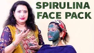 Spirulina Face Mask for all skin types!   Summer care