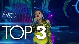 MARIA - NEW RULES (Dua Lipa) - Spekta Show Top 3 - Indonesian Idol 2018