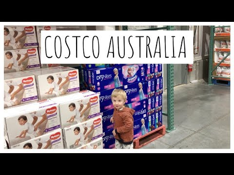 COSTCO AUSTRALIA SHOPPING