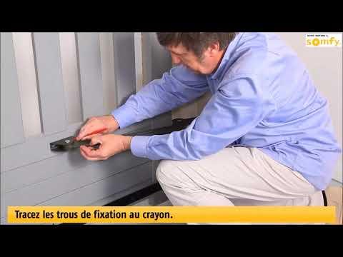 installation somfy evolvia motorisation portail pr sent e. Black Bedroom Furniture Sets. Home Design Ideas