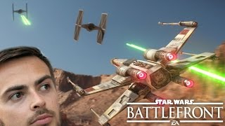 IT IS FINALLY HERE! Star Wars Battlefront 2015 PS4 Gameplay!