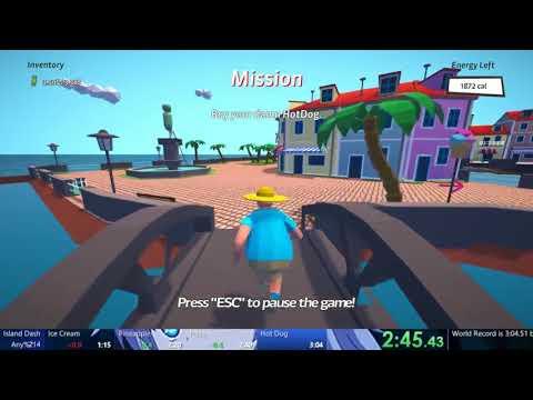 Island Dash Speedrun in 3:04.19 [WR]