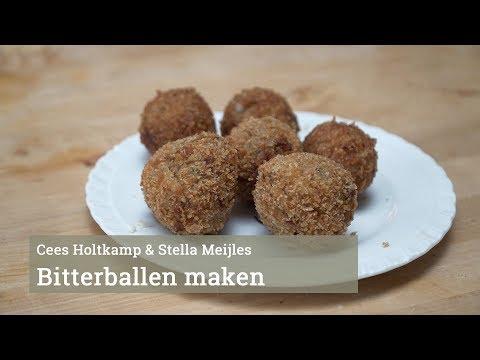 Cees Holtkamp maakt bitterballen