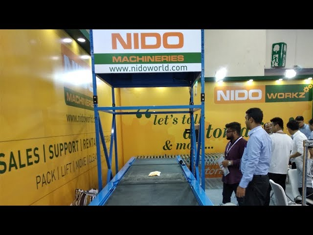 Nido Dynamic DWS - Capture barcode, image, weight & dimensions in motion