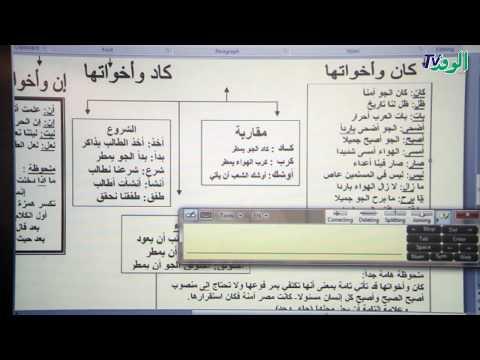 المراجعة النهائية في-النحو- بمادة اللغة العربية للصف الأول الثانوي -الجزء الأول-  - نشر قبل 18 دقيقة