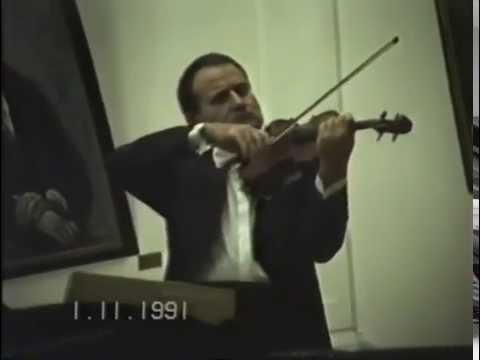 Georgi Badev - Live in Gabrovo '91 - Tartini, Beethoven, Bach, Brahms, Wieniawski