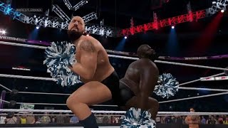 NEXT GEN WWE 2K15- Big Show and Mark Henry entrance mash-up as Funkadactyls