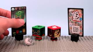 Crazy Cubes Marble Shooter Opening Toy Review