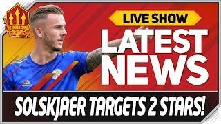 Solskjaer Targets Maddison & Sancho Transfers! Man Utd News