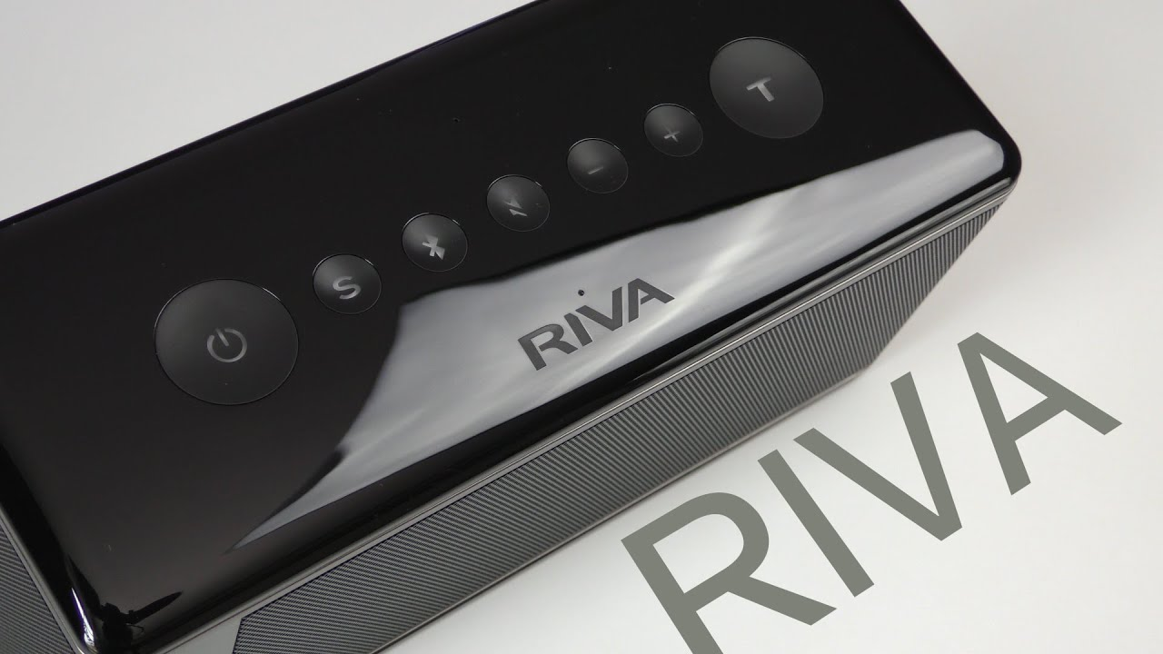 the Riva Audio Turbo X - white and black models