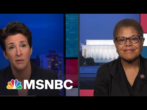 Guilty Verdicts In Chauvin Trial Renews Hope, Energy Behind Policing Bill In Senate   Rachel Maddow