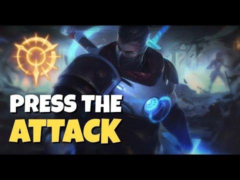 PRESS THE ATTACK SHEN! Shen vs Poppy Season 8! League of Legends