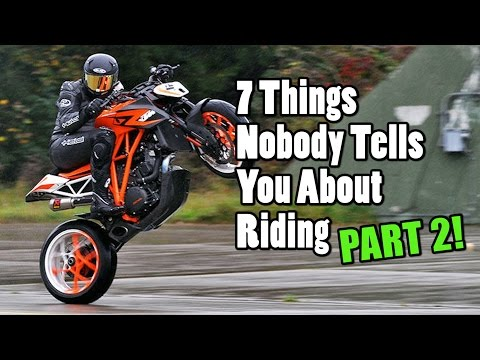 7 Other Things No One Tells you about Riding Motorcycles