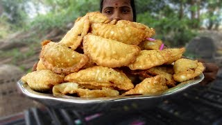 Samosa Recipe Cooking in My Village | spicy and crispy samosa | VILLAGE FOOD