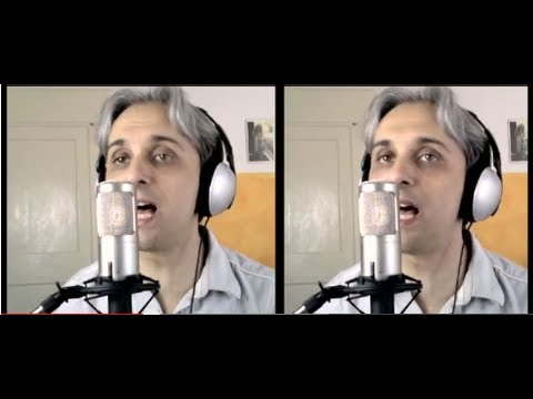 How to sing a Cover of We Can Work It Out like The Beatles Vocal Harmony Breakdown