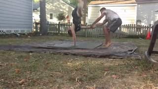 Backyard Wrestling - Parsons vs Davis