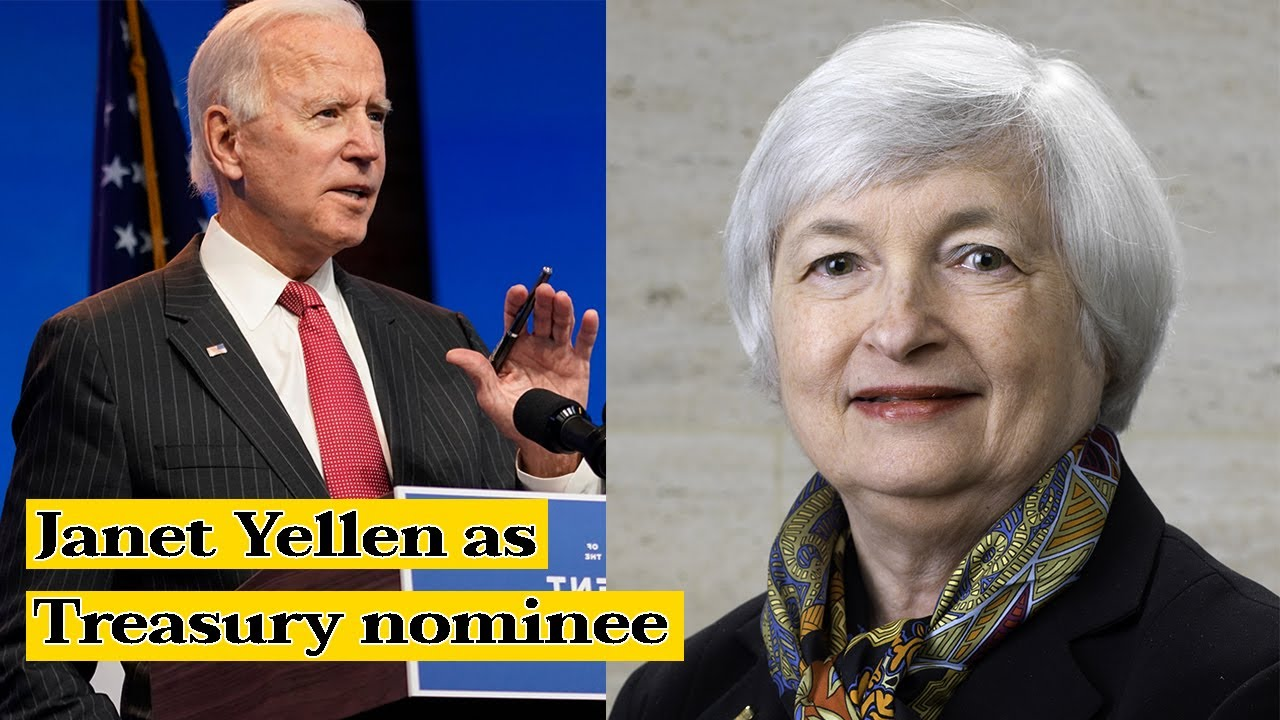 Biden announces economic team, confirms Janet Yellen as ...