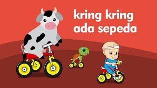 Kring kring Ada Sepeda - Lagu anak indonesia populer