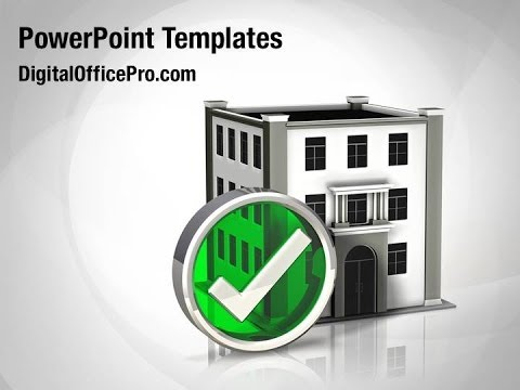 Commercial Building Powerpoint Template Backgrounds