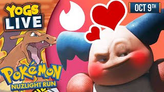 POKEMON TINDER PROFILES - Pokemon FireRed Nuzlight Challenge w/ Barry + Lydia - 09/10/19