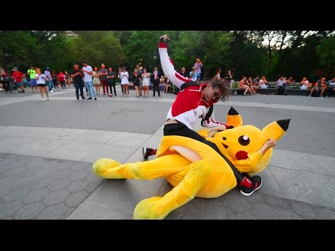 Pokemon Go In Real Life - Behind the Scenes