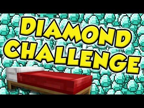 DIAMOND CHALLENGE   MINECRAFT BED WARS
