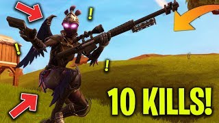 VITTORIA REALE tra CECCHINATE e PUSH, 10 KILLS! Fortnite Battle Royale - Stagione 5