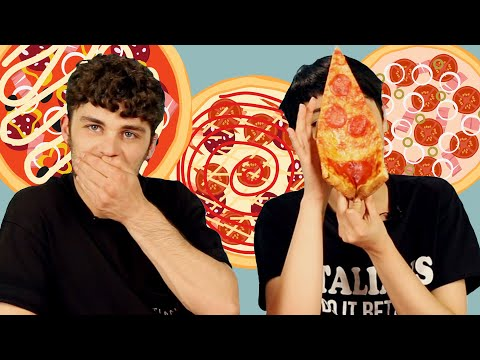 Millennial Italians Try American Pizza