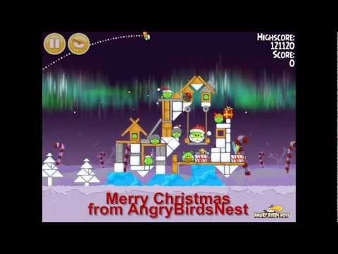 Angry Birds Seasons Winter Wonderham 1-25 Walkthrough 3-Star