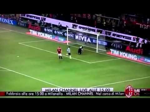 Milan-Juventus 1-1 gol annullato a Muntari Mauro Suma