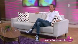 Pachmann Péter váltja Gönczit, ha Gáboréknál megindul a szülés - tv2.hu/fem3cafe