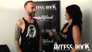 Access: Nergal of Behemoth at Getaway Rock Festival 2013