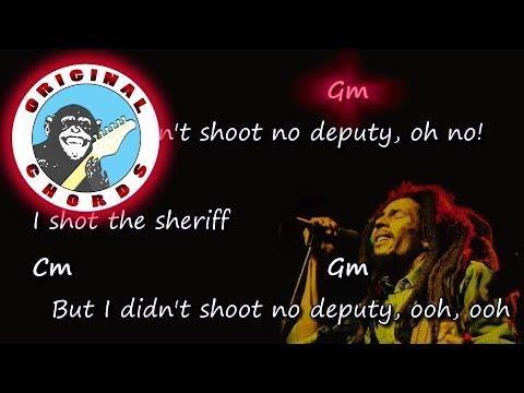 Bob Marley - I Shot the Sheriff - Chords & Lyrics (Eric Clapton)