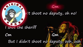 Bob Marley - I Shot the Sheriff - Chords & Lyrics