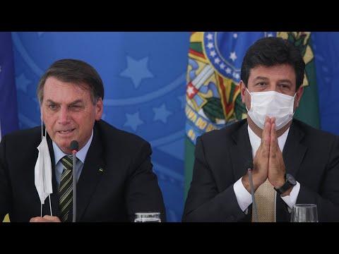 Brazil President Jair Bolsonaro Fiddles While Brazil Burns